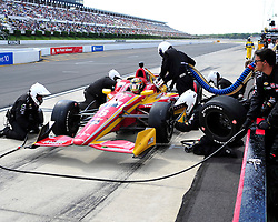 Sage Karam injured in a crash on August 23rd, 2015, at Pocono Raceway in Long Pond. (Chris Post | lehighvalleylive.com)