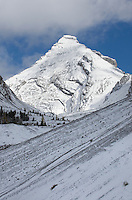 Autumn snow on The Fortress, Kananaskis Country, Alberta