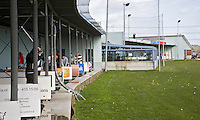 DELFT - Driving Range. Golfclinic door golpro Helen Reid, op golfbaan Delfland. COPYRIGHT KOEN SUYK