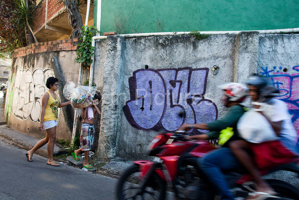 Since pacification in 2011, Vidigal has slowly become known as what some call a model favela, seen as the safest favela in Rio, home to a mixed community which now includes foreigners, hostels, restaurants, theatres and creative businesses.