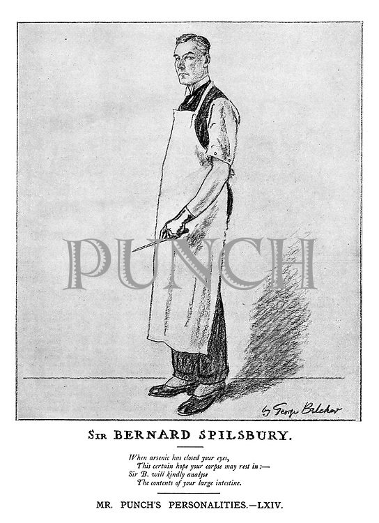 Mr Punch's Personalities. LX!V. Sir Bernard Spilsbury.
