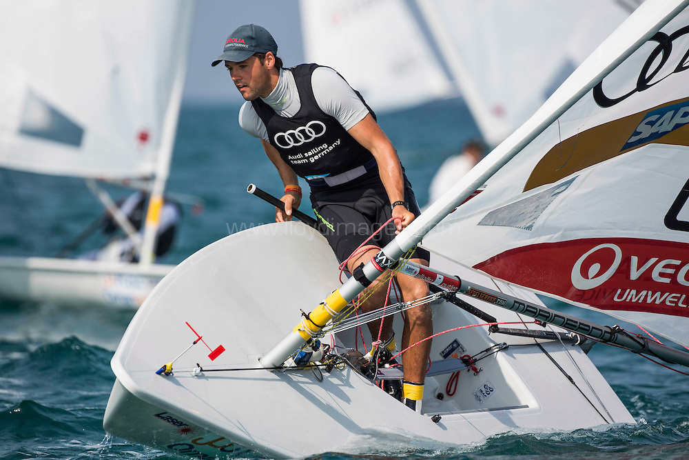 Laser World Championships 2013. Mussanah. Oman. Day4, Philipp  Buhl (GER)<br /> Credit: Lloyd Images