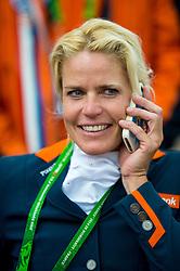 Nicole den Dulk, (NED), Wallace - Individual Test Grade Ib Para Dressage - Alltech FEI World Equestrian Games™ 2014 - Normandy, France.<br /> © Hippo Foto Team - Jon Stroud <br /> 25/06/14