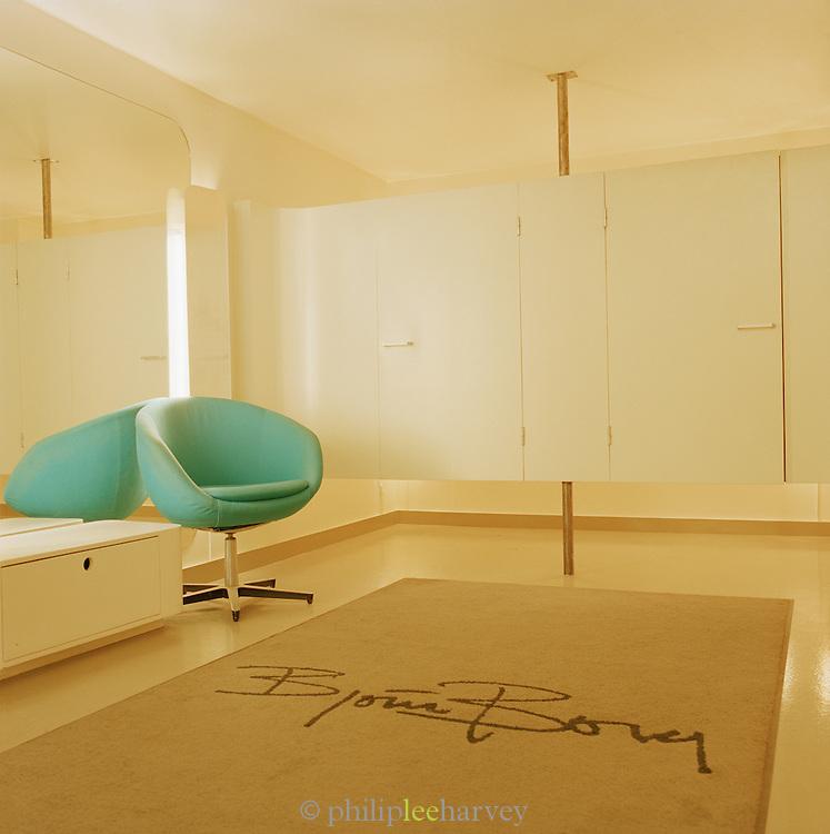 Modern design interior in Stockholm, Sweden