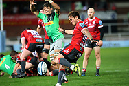 Gloucester's Danny Cipriani during the Gallagher Premiership Rugby match between Gloucester Rugby and Harlequins at the Kingsholm Stadium, Gloucester, United Kingdom on 14 September 2020.