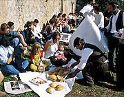 landsbyfest Sardinia.dias Sardinia, Italy.