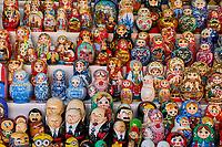 Russie, Moscou, Poupées Russes, Matriochka // Russia, Moscow, Russian doll, Matryochka
