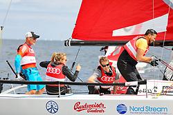 , Kiel - Kieler Woche 17. - 25.06.2017, Audi e-tron Cup - Boot 3 - Team All about Entertainment - Kena Amoa, Simon Licht, Oliver Fritz