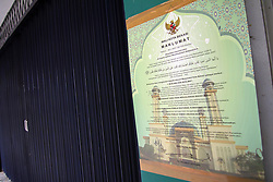 May 28, 2017 - Indonesia - Bekasi Mayor appealed to the owners of entertainment venues such as nightclubs, cafes, massage parlors, karaoke, live music, pubs, billiards, steam / sauna / spa and other public entertainment that can interfere with fasting, to close during Ramadan. (Credit Image: © Kuncoro Widyo Rumpoko/Pacific Press via ZUMA Wire)