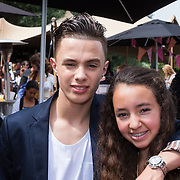 NLD/Amsterdam/20130713 - AFW 2013 Zomer, modeshow Supertrash Girls, Monsif en Nora