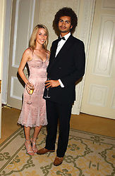 MISS AYESHA MAKIM neice of Sarah, Duchess of York and STEVE WOOD at a dinner hosed by Moet & Chandon at their headquarters at 13 Grosvenor Crescent, London on 12th October 2005.<br /><br />NON EXCLUSIVE - WORLD RIGHTS