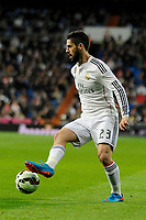 Real Madrid´s Isco during 2014-15 La Liga match between Real Madrid and Levante UD at Santiago Bernabeu stadium in Madrid, Spain. March 15, 2015. (ALTERPHOTOS/Luis Fernandez)
