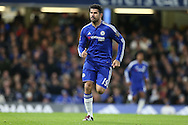 Diego Costa of Chelsea running. Barclays Premier league match, Chelsea v AFC Bournemouth at Stamford Bridge in London on Saturday 5th December 2015.<br /> pic by John Patrick Fletcher, Andrew Orchard sports photography.
