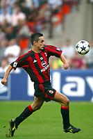 Milano 16/9/2003 <br />Champions League <br />Milan Ajax 1-0 <br />Filippo Inzaghi (Milan)  <br />Foto Andrea Staccioli Graffiti