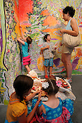 Paint By Numbers exhibit at the 2011 Bumbershoot festival in Seattle, Washington