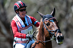 March 22, 2019 - Raeford, North Carolina, US - March 23, 2019 - Raeford, N.C., USA - LISA MARIE FERGUSSON of Canada riding HONOR ME competes in the cross country CCI-4S division at the sixth annual Cloud 11-Gavilan North LLC Carolina International CCI and Horse Trial, at Carolina Horse Park. The Carolina International CCI and Horse Trial is one of North AmericaÃ•s premier eventing competitions for national and international eventing combinations, hosting International competition at the CCI2*-S through CCI4*-S levels and National levels of Training through Advanced. (Credit Image: © Timothy L. Hale/ZUMA Wire)