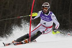 19.02.2011, Gudiberg, Garmisch Partenkirchen, GER, FIS Alpin Ski WM 2011, GAP, Herren, Slalom, im Bild Reinfried Herbst (AUT) // Reinfried Herbst (AUT) during Men's Slalom Fis Alpine Ski World Championships in Garmisch Partenkirchen, Germany on 20/2/2011. EXPA Pictures © 2011, PhotoCredit: EXPA/ M. Gunn