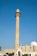 Israel, Tel Aviv, Hassan Beq mosque in Jaffa