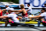Poznan, POLAND, 21st June 2019, Friday, Morning Heats, FISA World Rowing Cup II, Malta Lake Course, © Peter SPURRIER/Intersport Images,<br /> <br /> 10:54:05