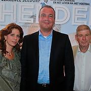 NLD/Ridderkerk/20110526 - Presentatie Helden magazine 9, Frits Barend, dochter Barbara Barend en uitgever Sanoma