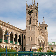 The Clock Tower of the Parliament Buildings in Bridgetown, Barbados