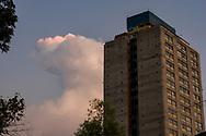 paisaje urbano en tlatelolco,urban landscape in tlatelolco