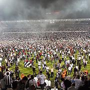 Besiktas's Supporters during their Turkish superleague soccer match Besiktas between Genclerbirligi at BJK Inonu Stadium in Istanbul Turkey on Saturday 11 May 2013. Photo by Aykut AKICI/TURKPIX