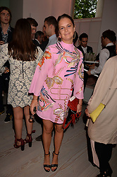 Jemima Herbert at the Tatler's English Roses 2017 party in association with Michael Kors held at the Saatchi Gallery, London England. 29 June 2017.<br /> Photo by Dominic O'Neill/SilverHub 0203 174 1069 sales@silverhubmedia.com