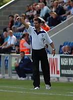 Photo: Tony Oudot/Richard Lane Photography.Colchester United v Leeds United. Coca Cola League One. 29/08/2009. <br /> Colchester caretaker manager Joe Dunne