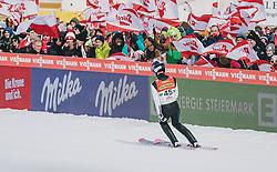16.02.2020, Kulm, Bad Mitterndorf, AUT, FIS Ski Flug Weltcup, Kulm, Herren, im Bild Ryoyu Kobayashi (JPN) // Ryoyu Kobayashi of Japan during the men's FIS Ski Flying World Cup at the Kulm in Bad Mitterndorf, Austria on 2020/02/16. EXPA Pictures © 2020, PhotoCredit: EXPA/ JFK