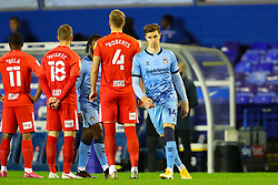 Ben Sheaf of Coventry City (on loan from Arsenal) takes the field ahead of kick off - Mandatory by-line: Nick Browning/JMP - 20/11/2020 - FOOTBALL - St Andrews - Birmingham, England - Coventry City v Birmingham City - Sky Bet Championship
