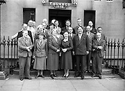 10/7/1952<br /> 7/10/1952<br /> 10 July 1952<br /> <br /> New Council and Presentation for the Red Cross