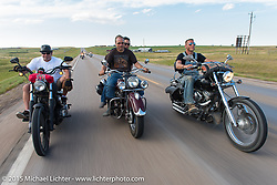 On the annual Lichter/Sugar Bear Ride during the 75th Annual Sturgis Black Hills Motorcycle Rally.  SD, USA.  August 5, 2015.  Photography ©2015 Michael Lichter.