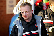 Walsall manager Dean Keates before the EFL Sky Bet League 1 match between Peterborough United and Walsall at London Road, Peterborough, England on 22 December 2018.