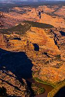 Steamboat Rock, Echo Park, Harpers Corner, Dinosaur National Monument, Colorado (Utah border).