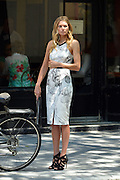 June 24, 2014 - New York City, NY, United States - <br /> <br /> Jessica Hart In New York<br /> <br /> New York City....Model Jessica Hart out in downtown Manhattan on June 24 2014 in New York City<br /> ©Exclusivepix