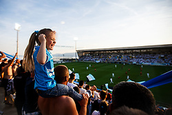Young fan of HNK Rijeka during football match between HNK Rijeka and HNK Cibala in Round #35 of 1st HNL League 2016/17, on May 21st, 2017 in Rujevica stadium, Rijeka, Croatia. Photo by Grega Valancic / Sportida