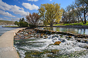 Giant Springs State Park, Great Falls, Montana.