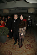 Maximilian Schell AND  Jane Adams. The party for 'Resurrection Blues' following the opening at the Old Vic. The Riverbank Park Plaza Hotel, London.3 March 2006. ONE TIME USE ONLY - DO NOT ARCHIVE  © Copyright Photograph by Dafydd Jones 66 Stockwell Park Rd. London SW9 0DA Tel 020 7733 0108 www.dafjones.com