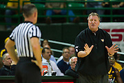 WACO, TX - MARCH 5: West Virginia Mountaineers head coach Bob Huggins looks on against the Baylor Bears on March 5, 2016 at the Ferrell Center in Waco, Texas.  (Photo by Cooper Neill/Getty Images) *** Local Caption *** Bob Huggins