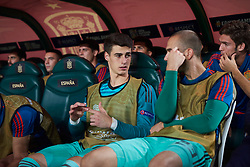 September 11, 2018 - Elche, U.S. - ELCHE, SPAIN - SEPTEMBER 11: Kepa and Pau L—pez goalkeeper of Spain talks before the UEFA Nations League A Group four match between Spain and Croatia on September 11, 2018, at Estadio Manuel Martinez Valero in Elche, Spain. (Photo by Carlos Sanchez Martinez/Icon Sportswire) (Credit Image: © Carlos Sanchez Martinez/Icon SMI via ZUMA Press)