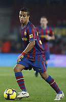 Fotball<br /> Spania<br /> Foto: imago/Digitalsport<br /> NORWAY ONLY<br /> <br /> 05.01.2010 <br /> Alcantara do Nascimento Thiago (Barca) am Ball; FC Barcelona<br /> <br /> BILDET INNGÅR IKKE I FASTAVTALENE