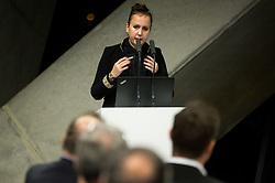 Nina Spremo during General Assembly of Slovenian Tennis Federation, on December 12, 2018 in Kristalna palaca, Ljubljana, Slovenia. Photo by Vid Ponikvar / Sportida