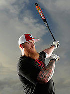 JANUARY 8, 2016 - KISSIMMEE, FL:  Louisville Slugger slow pitch softball shoot in Kissimmee, Florida, featuring Ryan Harvey, at the Fortune Road Athletic Complex, 2500 Fortune Road, Kissimmee Florida on January 8, 2016.