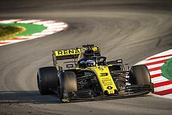February 20, 2019 - Barcelona, Spain - 03 RICCIARDO Daniel (aus), Renault Sport F1 Team RS19, action during Formula 1 winter tests from February 18 to 21, 2019 at Barcelona, Spain - Photo  /  Motorsports: FIA Formula One World Championship 2019, Test in Barcelona, (Credit Image: © Hoch Zwei via ZUMA Wire)