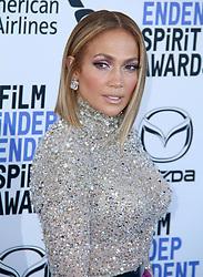 The 2020 Film Independent Spirit Awards at The Santa Monica beach in Santa Monica, California on 2/8/20. 08 Feb 2020 Pictured: Jennifer Lopez. Photo credit: River / MEGA TheMegaAgency.com +1 888 505 6342