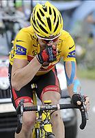 Sykkel<br /> Tour de France 2010<br /> 13.07.2010<br /> Foto: PhotoNews/Digitalsport<br /> NORWAY ONLY<br /> <br /> CADEL EVANS<br /> <br /> ETAPE 9 : MORZINE AVORIAZ - SAINT-JEAN-DE-MAURIENNE