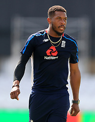 File photo dated 16-05-2019 of England's Chris Jordan. Chris Jordan is convinced England's heartbreaking defeat in the last T20 World Cup final helped them become a calmer, wiser side as they try to recapture the trophy five years later. Issue date: Tuesday October 12, 2021.