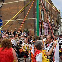 The Rochester Sweeps festival celebrates the traditional May Day holiday that chimney sweeps used to enjoy