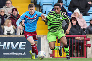 Scunthorpe United v Forest Green Rovers 220220